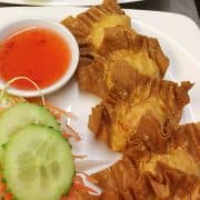 Crispy wonton - Boonnak Thai takeaway