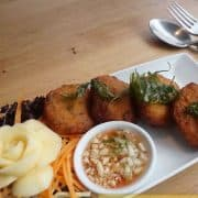 Thai fish cake - Boonnak Thai takeaway