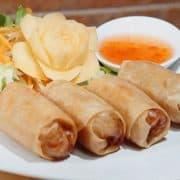 Spring roll - Boonnak Thai takeaway
