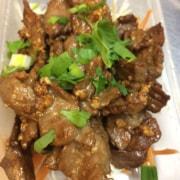 Beef garlic