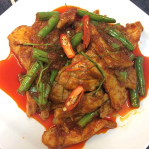 Chicken Prik kang\