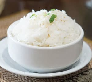 Coconut rice, Jasmine rice