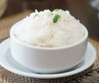 Coconut rice, Jasmine rice