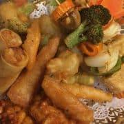 Mixed vegetables starter