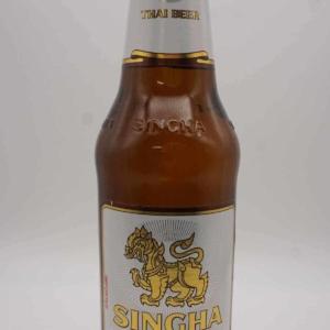 Singha beer 320 ml.