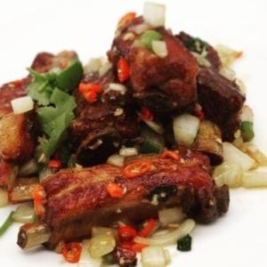 spicy pork ribs